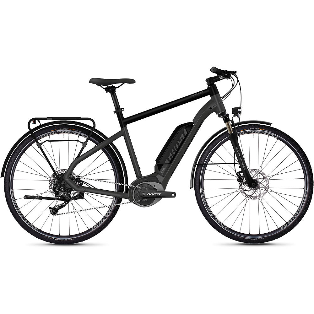 Ghost Hybride Square Trekking B1.8 E-Bike 2020 - Grey - Black, Grey - Black