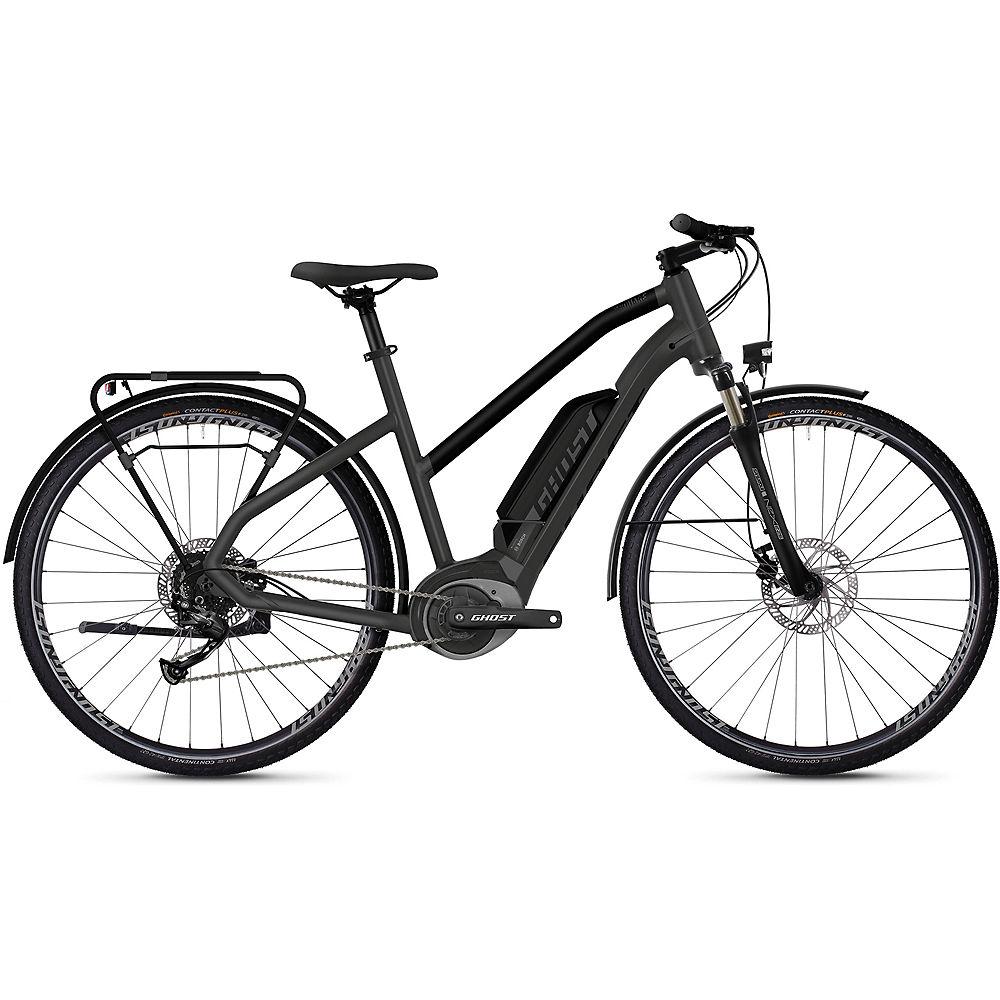 Ghost Hybride Square Trekking W B1.8 E-Bike 2020 - Grey - Black, Grey - Black
