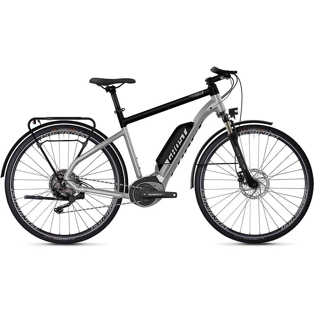Ghost Hybride Square Trekking B2.8 E-Bike 2020 - argentato - nero - M