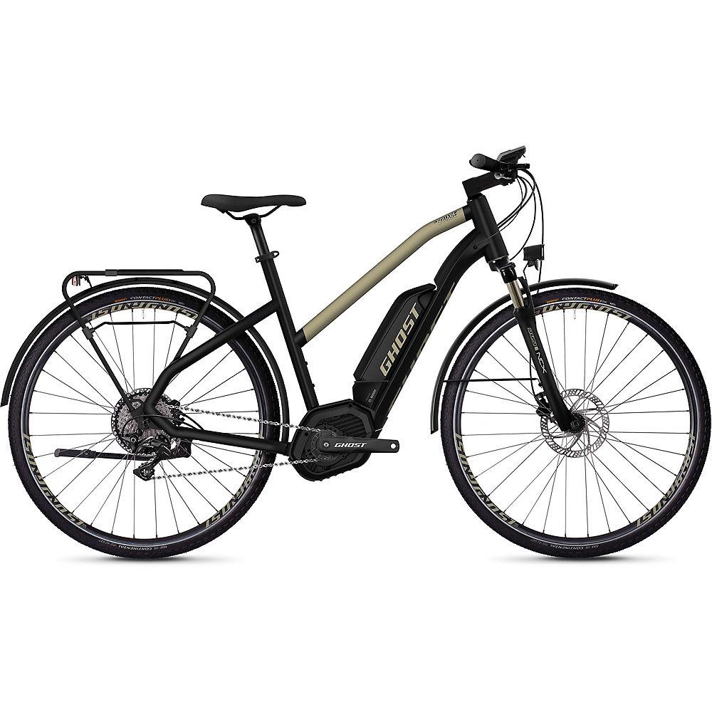 Ghost Hybride Square Trekking W B5.8 E-Bike 2020 - Black - Gold, Black - Gold