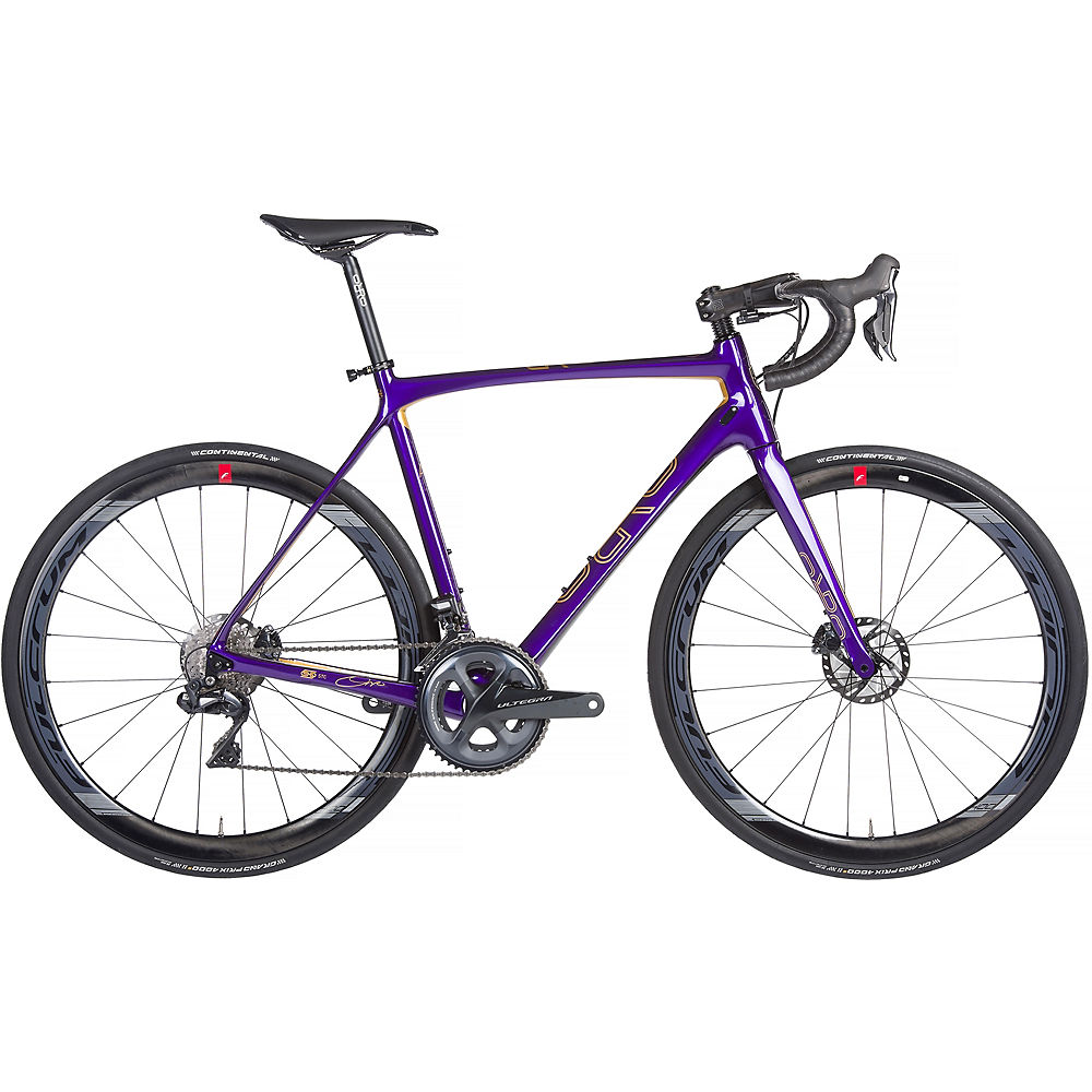 Orro Gold Signature Ultegra Di2 Road Bike 2020 - Purple - Gold - M, Purple - Gold