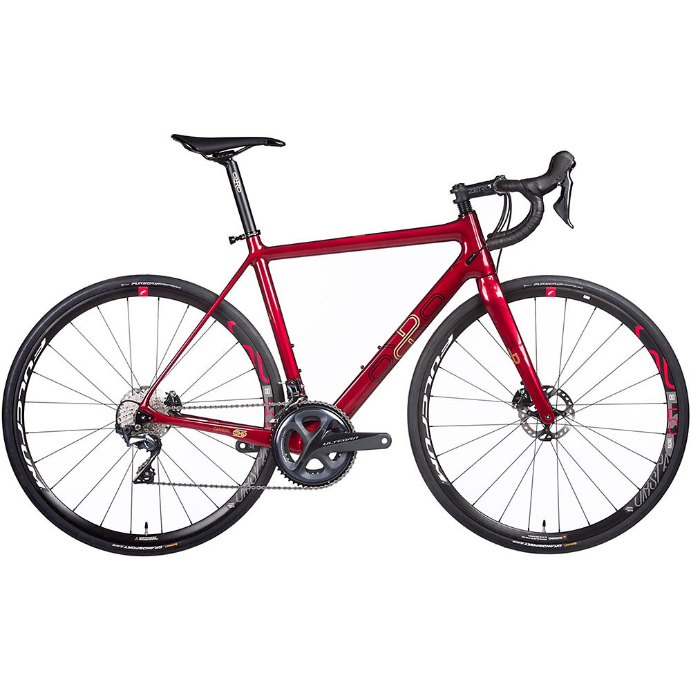 Orro Gold STC Disc Ultegra R500 Road Bike 2020 - Red Crystal - XL