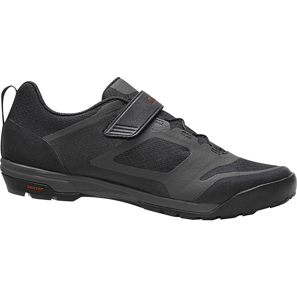Giro Ventana Fastlace Off Road Shoes 2020 - Black-Dark Shadow - EU 47, Black-Dark Shadow