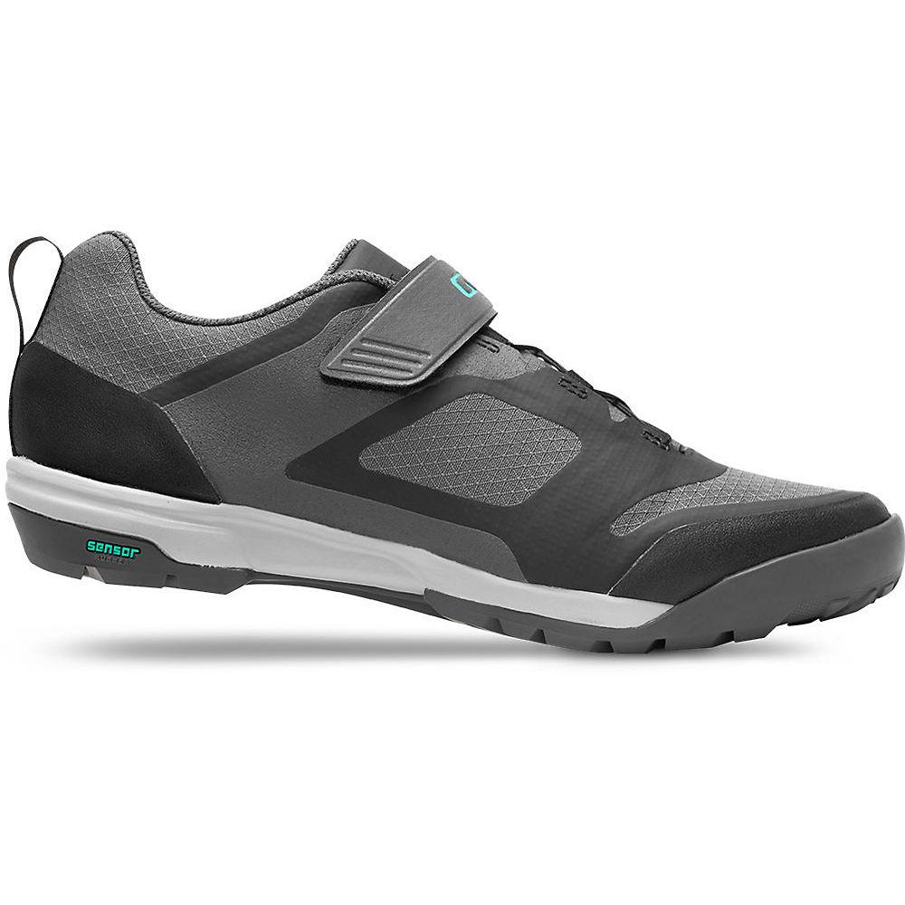 Giro Women's Ventana Fastlace Off Road Shoes 2020 - Dark Shadow - EU 37, Dark Shadow