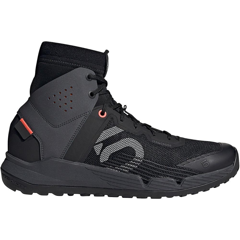 Five Ten Trail Cross MID MTB Shoes - Black-Grey-Red - UK 11, Black-Grey-Red