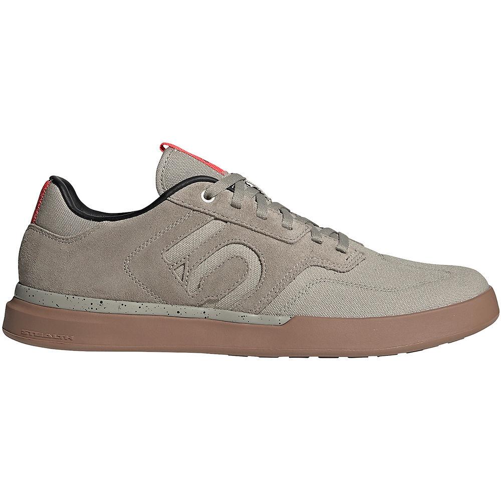 Five Ten Sleuth MTB Shoes - Grey-White-Gum - UK 11.5, Grey-White-Gum