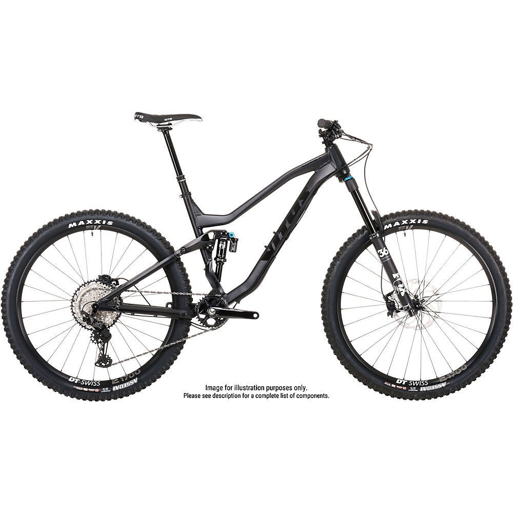 Bicicleta Vitus Sommet 27 CRS (XT/SLX 1x12) Covert 2020 - Covert Black, Covert Black
