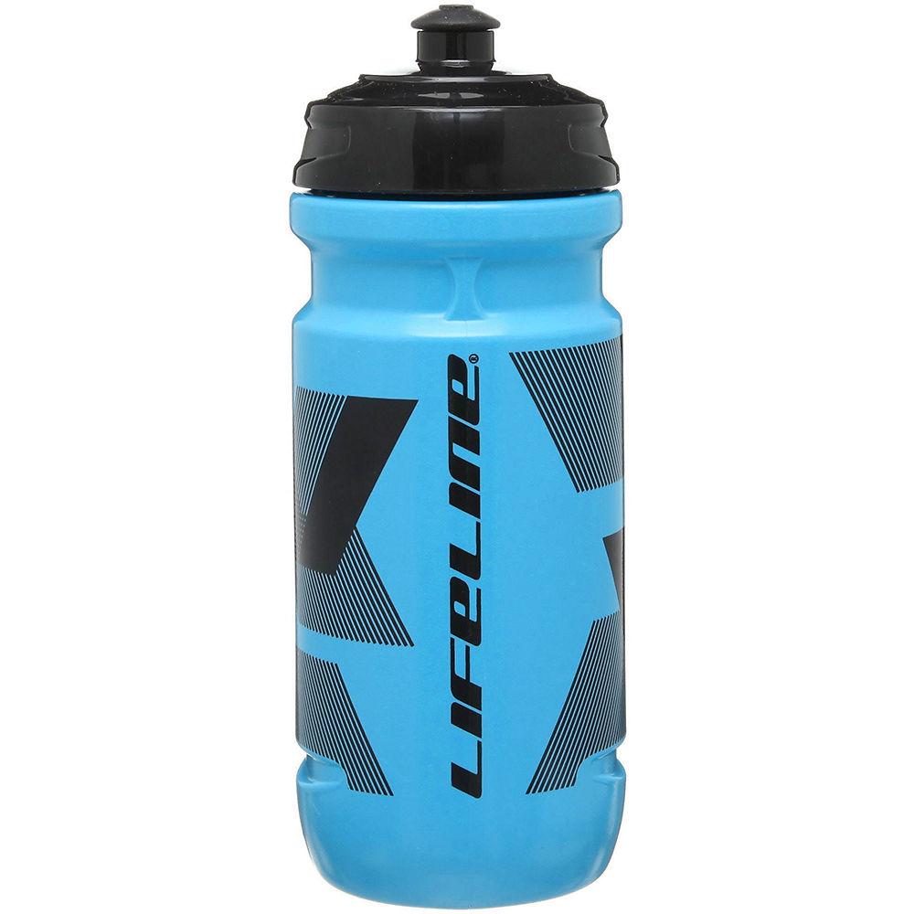 Lifeline Water Bottle 600ml - Blue - Black  Blue - Black
