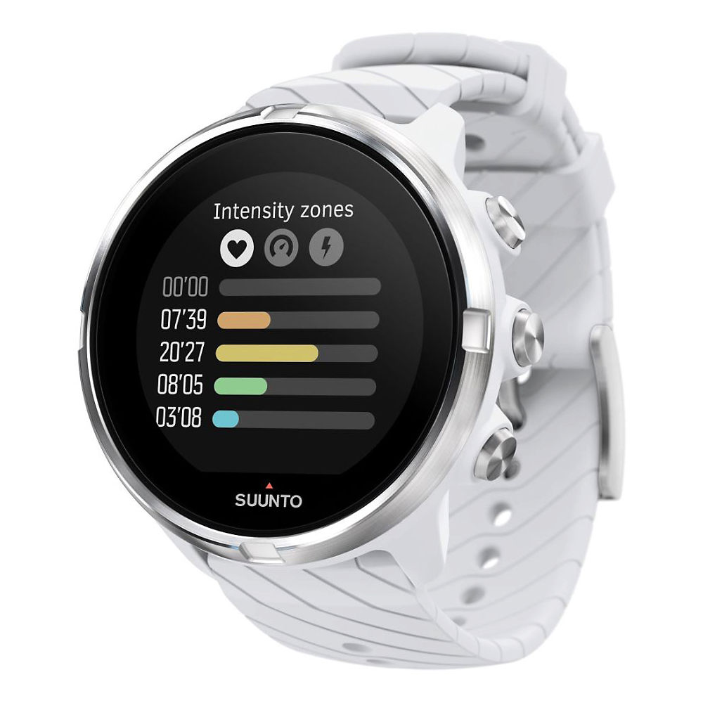 Suunto 9 GPS Multisport Watch-AU 2018 - Blanco, Blanco