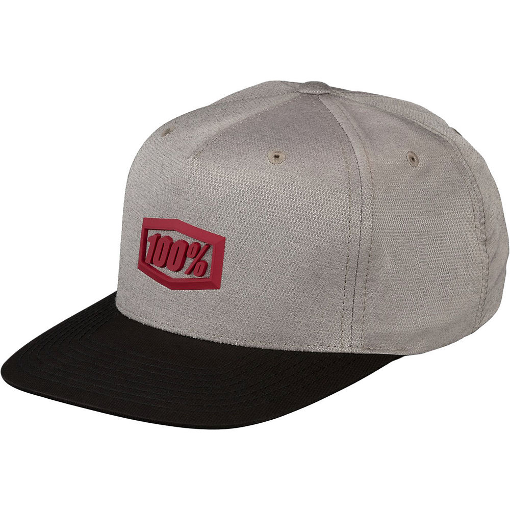 100% Enterprise Snapback Hat Spring 2012 - Charcoal - One Size, Charcoal