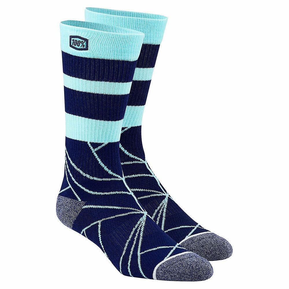 100% Fracture Athletic Socks Spring 2012 - Navy - L/XL/XXL, Navy
