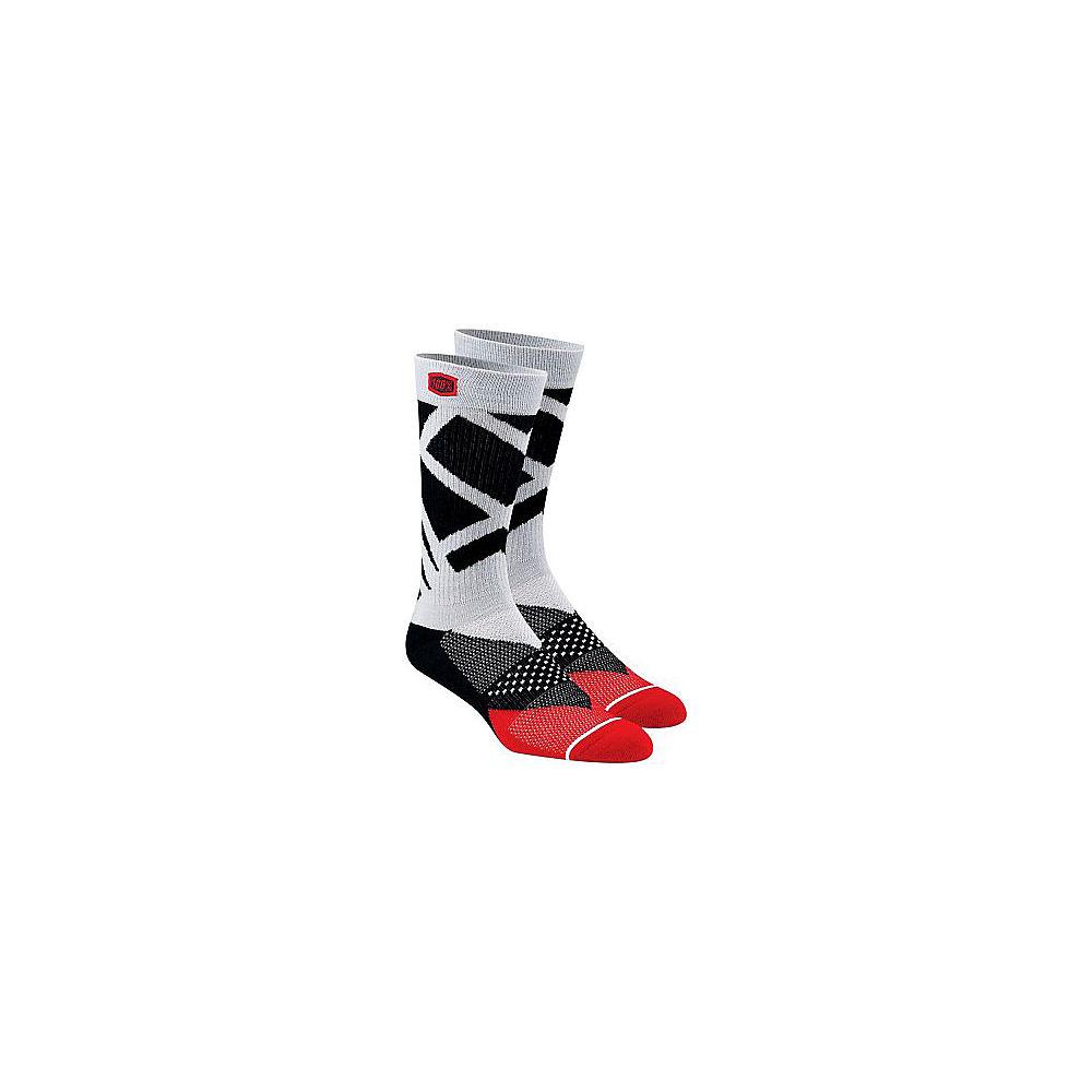 Image of 100% Rift Athletic Socks Spring 2012 - grigio acciaio - L/XL/XXL, grigio acciaio