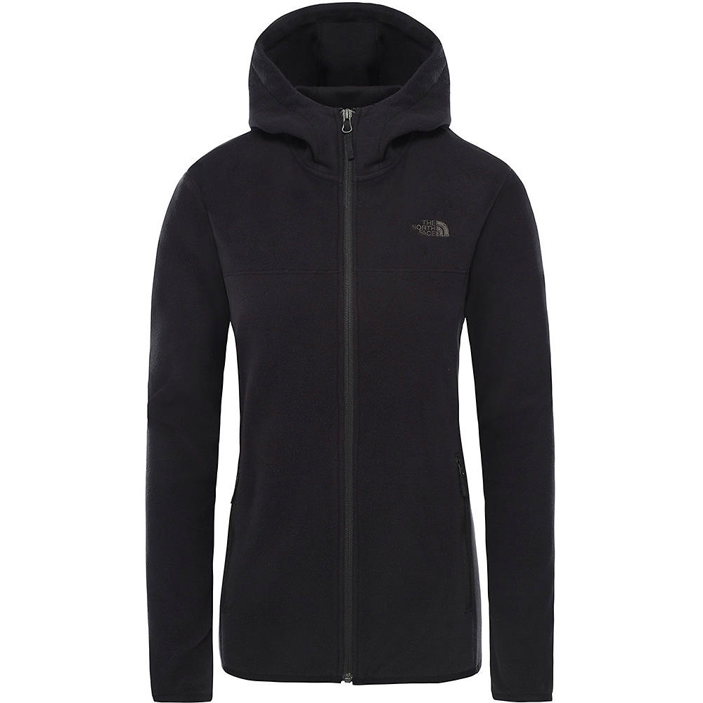 The North Face Womens Tka Glacier Full Zip Hoodie  - Tnf Black  Tnf Black