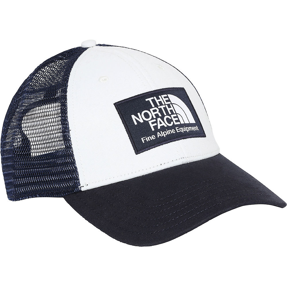 The North Face Mudder Trucker Hat  - Aviator Navy-vintage White - One Size  Aviator Navy-vintage White
