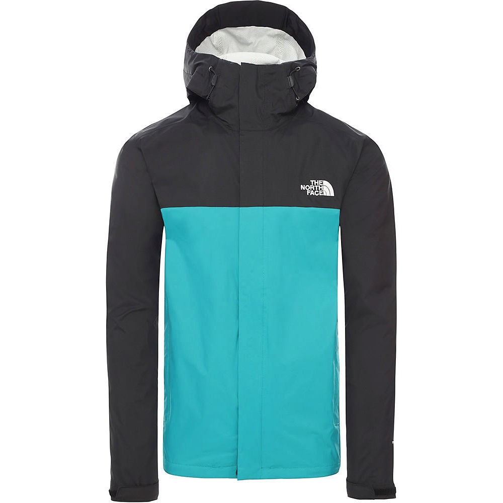 The North Face Venture 2 Jacket  - Fanfare Green-tnf Black - Xl  Fanfare Green-tnf Black
