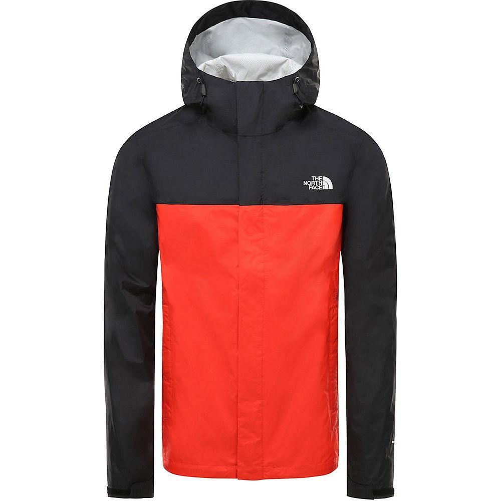 The North Face Venture 2 Jacket  - Fiery Red-tnf Black - M  Fiery Red-tnf Black