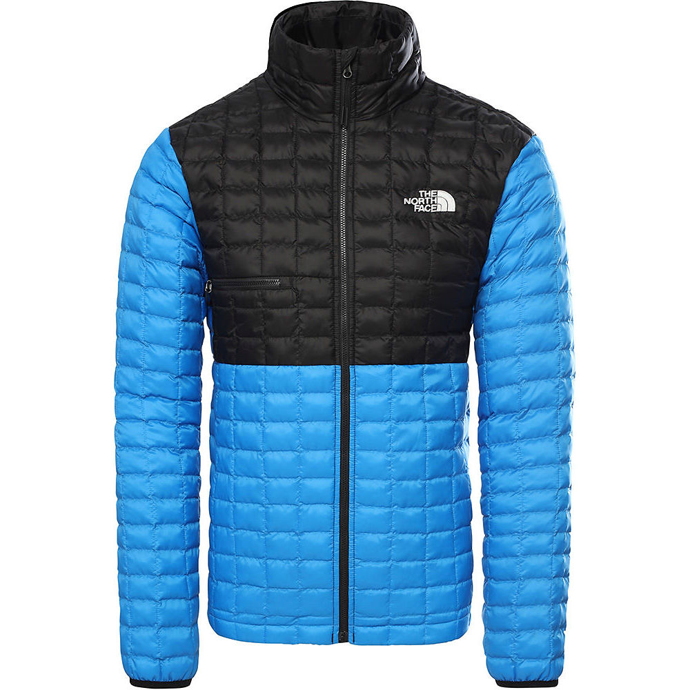 The North Face Thermoball Eco Light Jacket  - Clear Lake Blue-tnf Black - Xxl  Clear Lake Blue-tnf Black