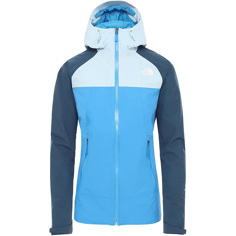 The North Face Womens Stratos Jacket  - Clear Lake Blue-blue Wing Teal  Clear Lake Blue-blue Wing Teal
