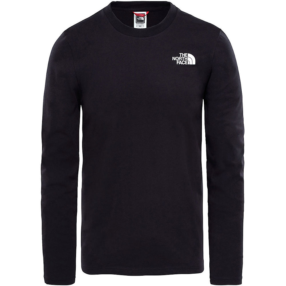 The North Face Long Sleeve Easy Tee  - Tnf Black  Tnf Black