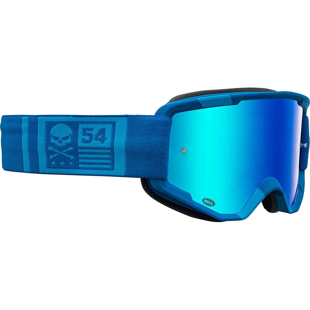 Image of Bell Descender MTB Crossbones Goggles 2020 - Blue-Blue 20, Blue-Blue 20