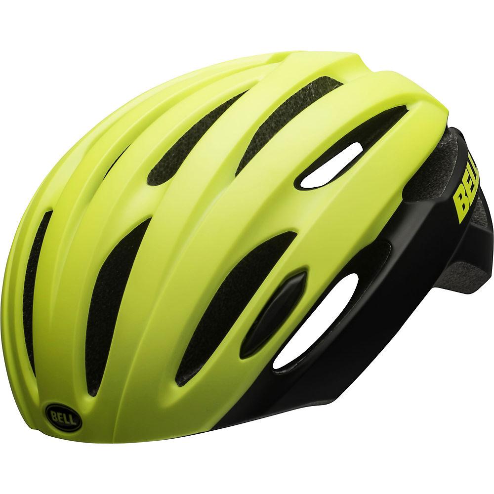 Image of Bell Avenue Helmet 2020 - Hi Viz Black 20 - One Size, Hi Viz Black 20