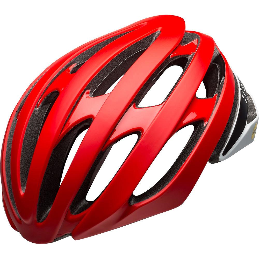 bell stratus mips helmet 2020 - red-black 20