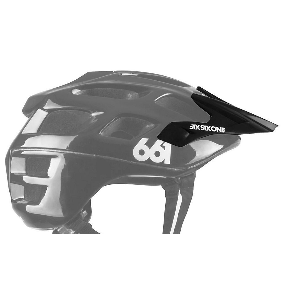 SixSixOne Recon Scout Visor 2020 - Black - One Size, Black