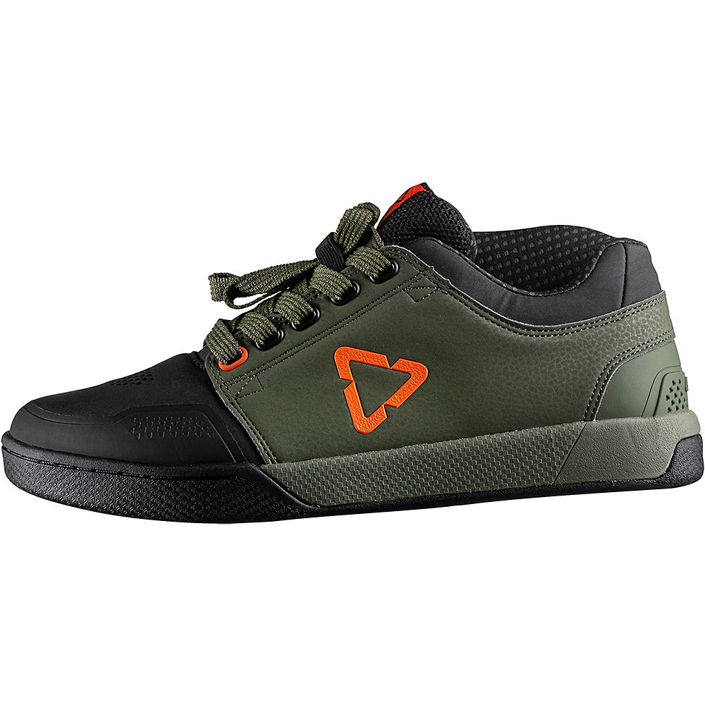 Leatt DBX 3.0 Flat Pedal Shoes 2020 - Forest - UK 8.5, Forest