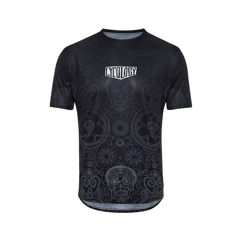 Cycology Day of the Living Men's Tech T-Shirt - Black, Black