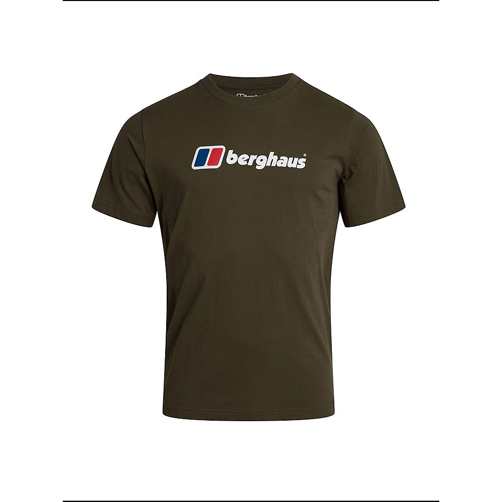 Image of Berghaus Big Corporate Logo Tee - Ivy Green - XL, Ivy Green