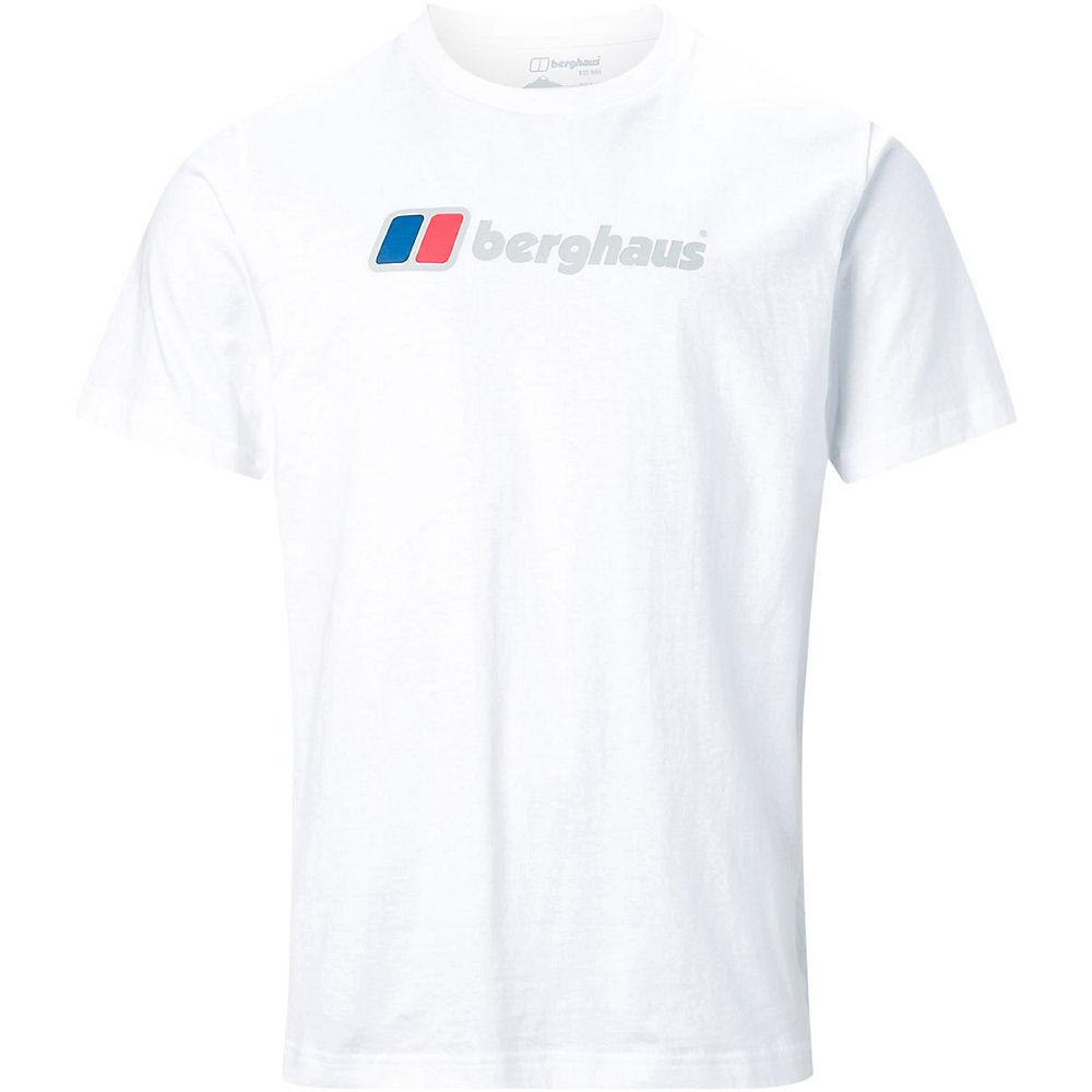 Image of Berghaus Big Corporate Logo Tee - Blanc, Blanc