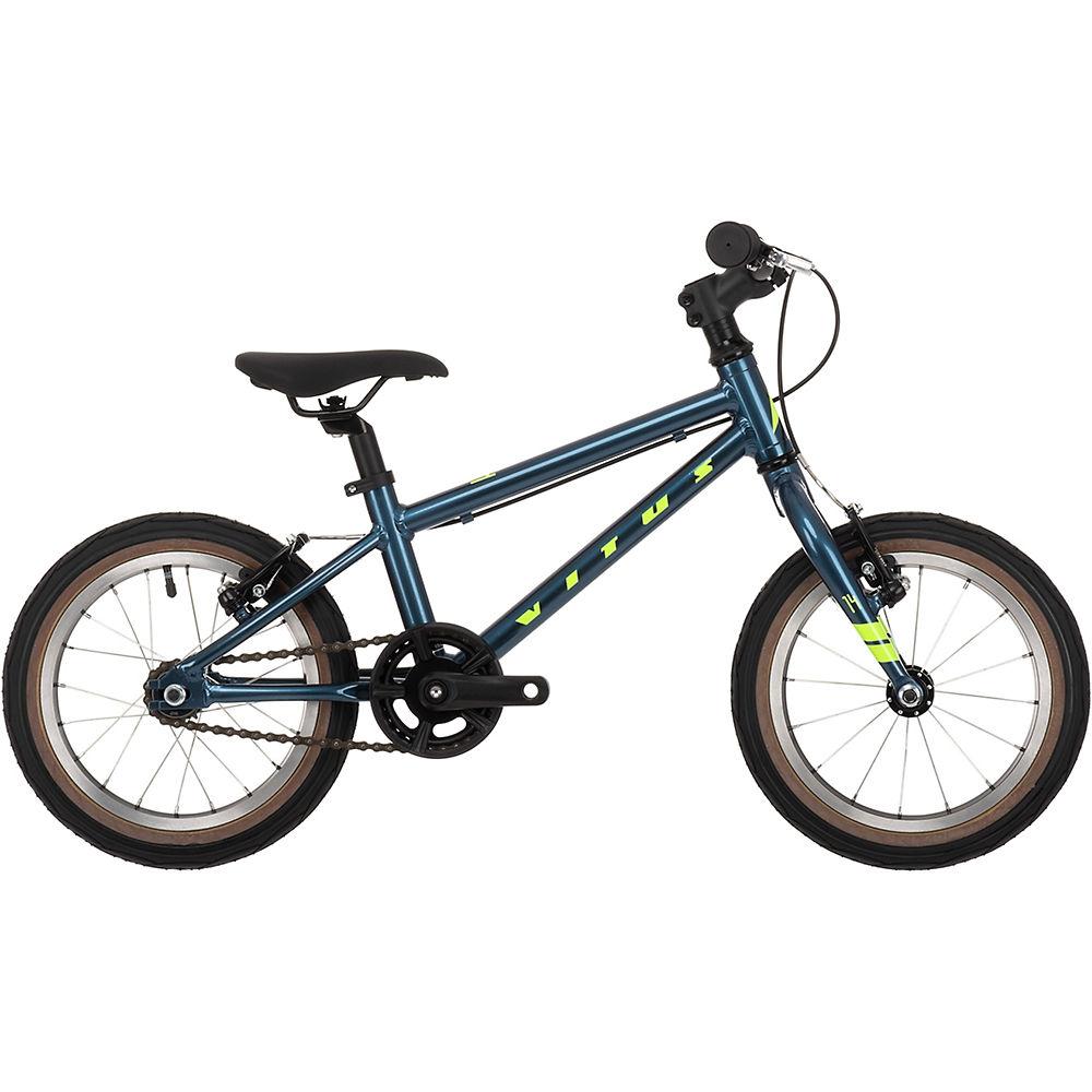 Rad Vitus 14 Kinderfahrrad 2021 - Slate Blue-Lime für Kinder bei Chain Reaction Cycles