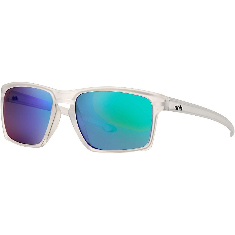 Dhb Clark Revo Lens Sunglasses - Matte Trans - Matte Transparent  Matte Transparent
