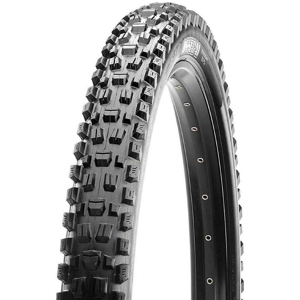 Maxxis Assegai MTB Tyre - 3CT - EXO+ - TR - Black - Folding Bead, Black
