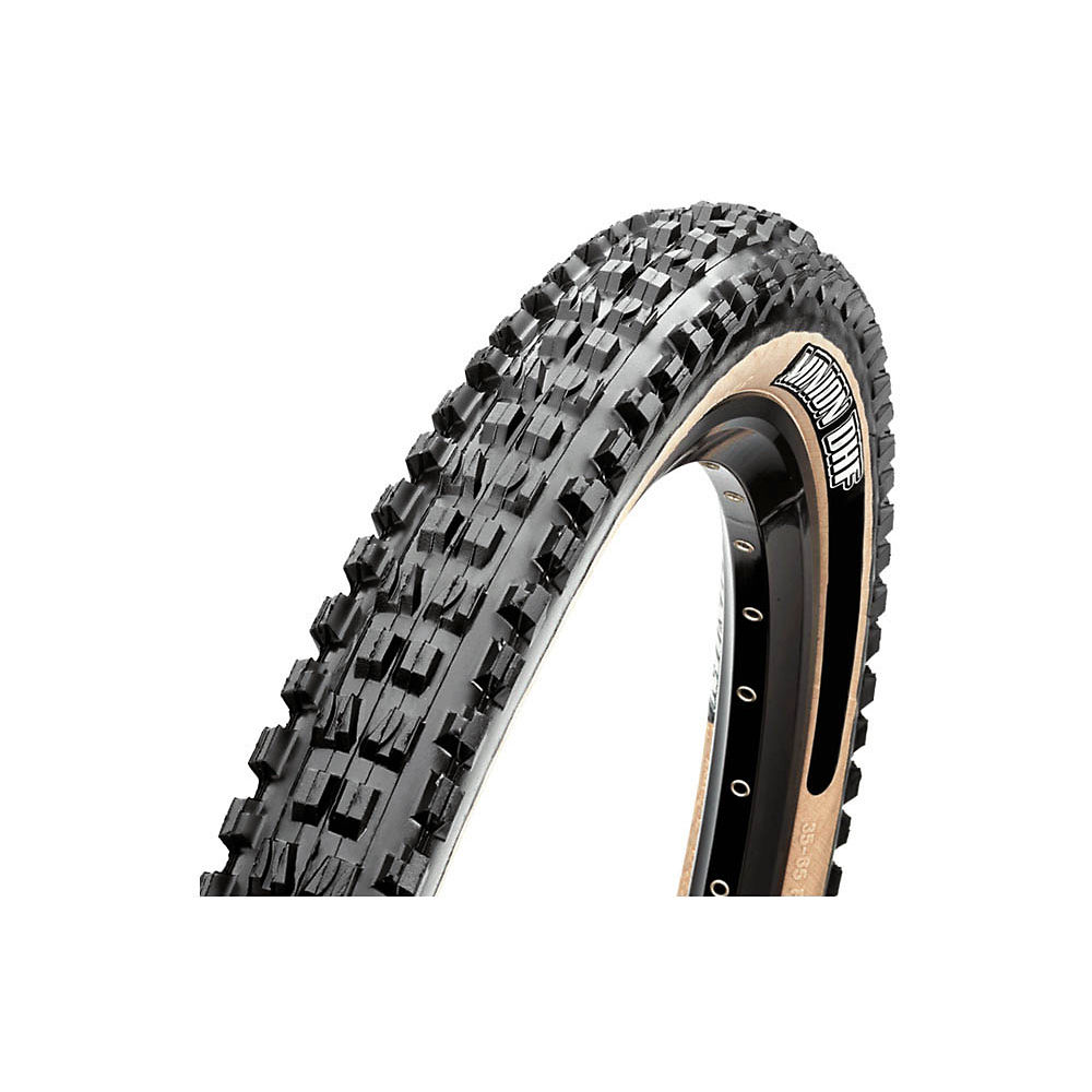 Maxxis Minion DHF MTB Tyre - EXO - TR - WT - Skinwall - Folding Bead, Skinwall