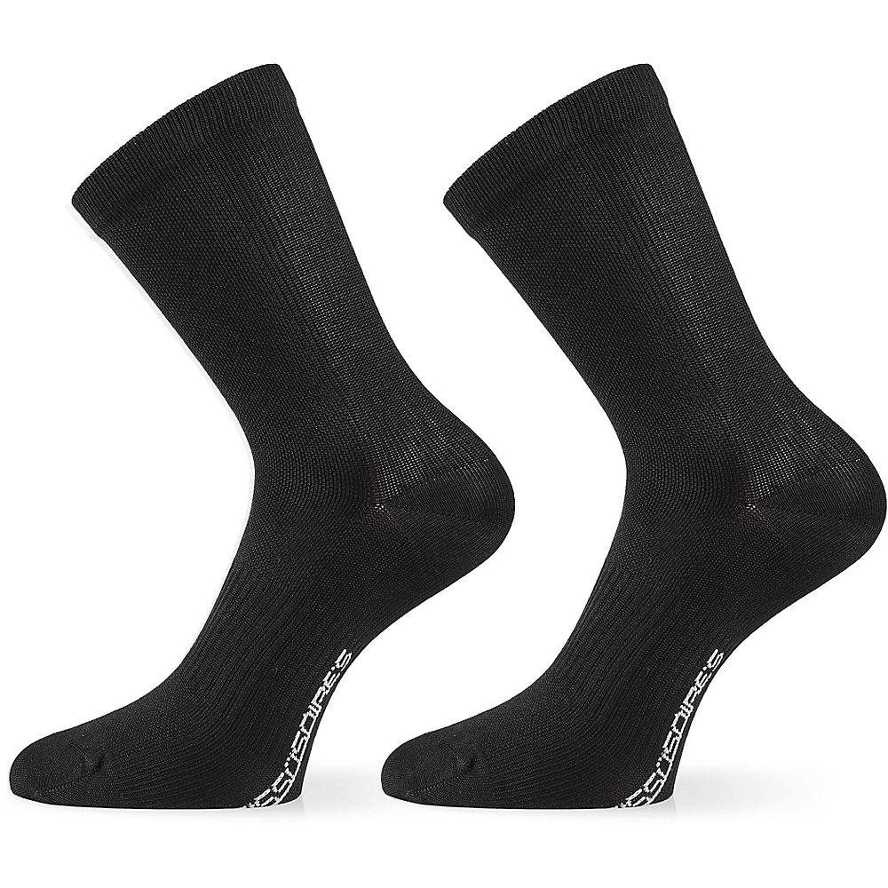 Image of Assos ASSOSOIRES Essence Socks - Black Series - M/L, Black Series