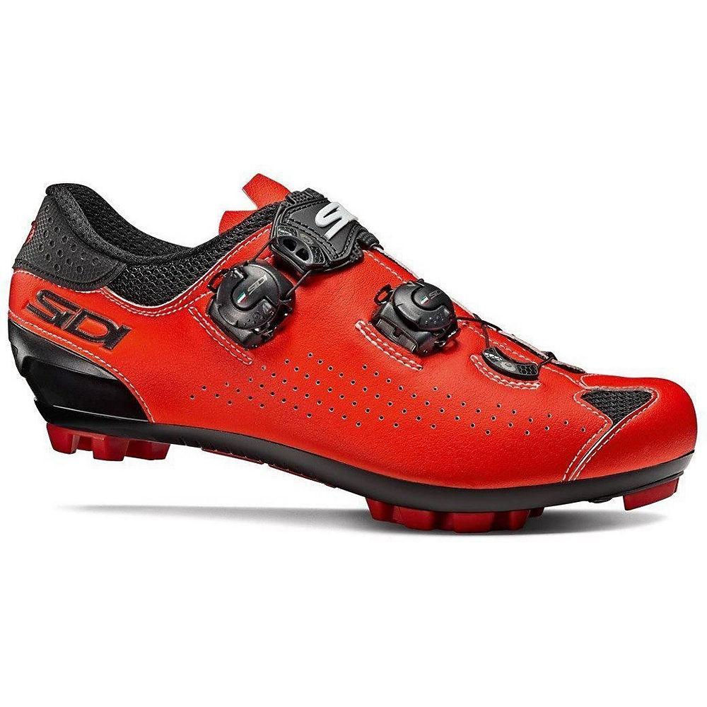 Sidi Eagle 10 Mtb Shoes - Black-red - Eu 41.5  Black-red