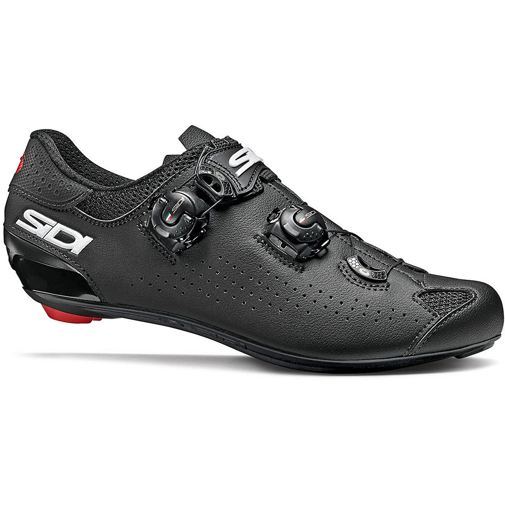 Sidi Genius 10 Road Shoes 2020 - Black-Black - EU 45, Black-Black