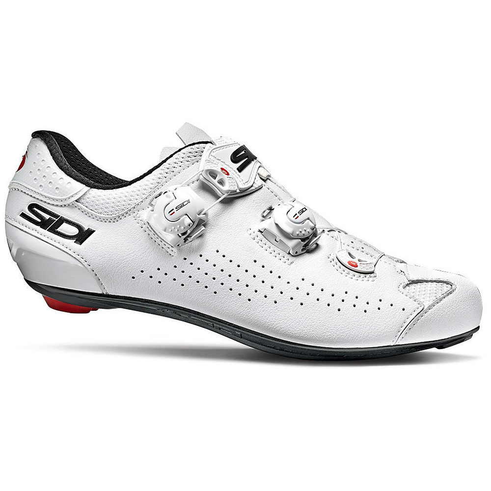 Sidi Genius 10 Road Shoes 2020 - White-White - EU 43.5, White-White