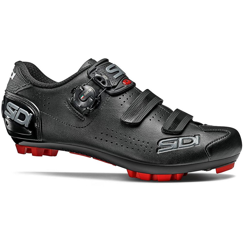 Sidi Trace 2 MTB Shoes - Black-Black - EU 45, Black-Black