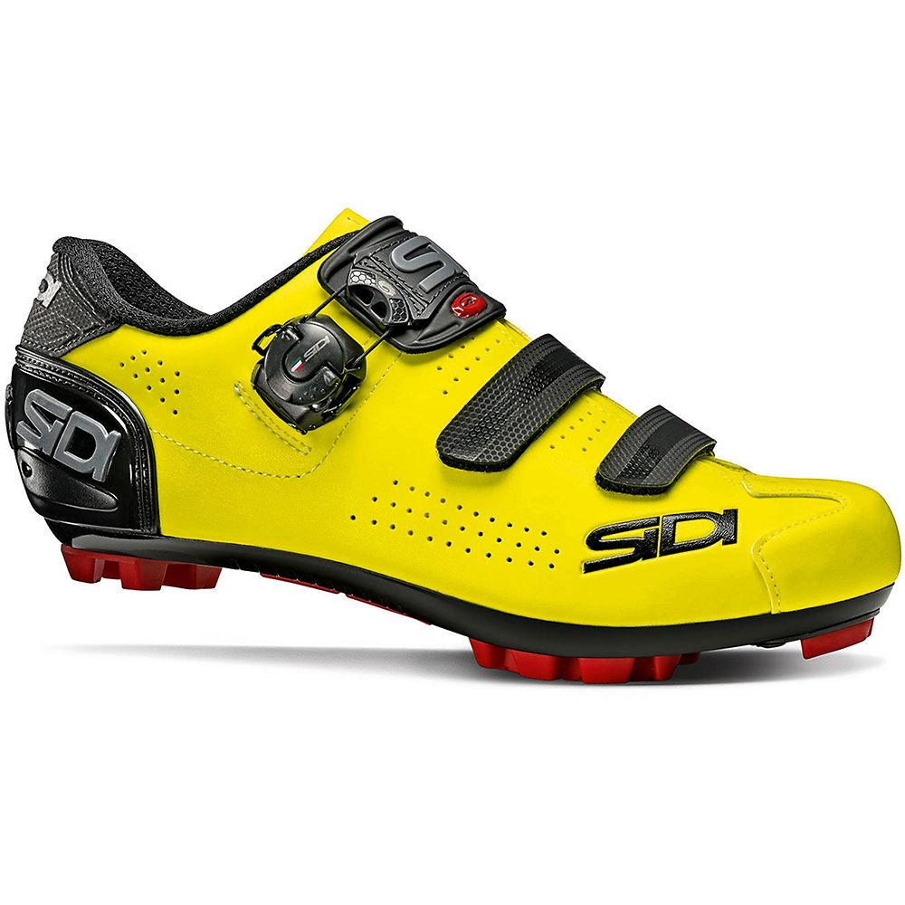 Sidi Trace 2 MTB Shoes - Yellow Fluo-Black - EU 42.5, Yellow Fluo-Black