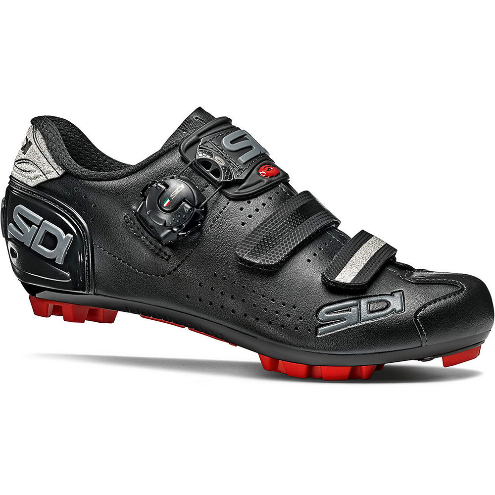 Sidi Women's Trace 2 MTB Shoes - Black-Black - EU 43, Black-Black