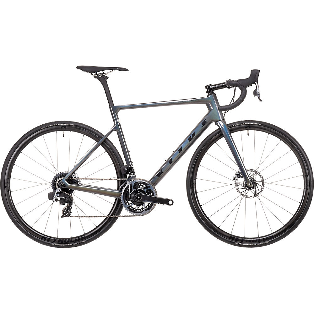 Bicicleta de carretera Vitus Vitesse EVO CRX eTap AXS (rojo) 2021 - Cosmic Black, Cosmic Black