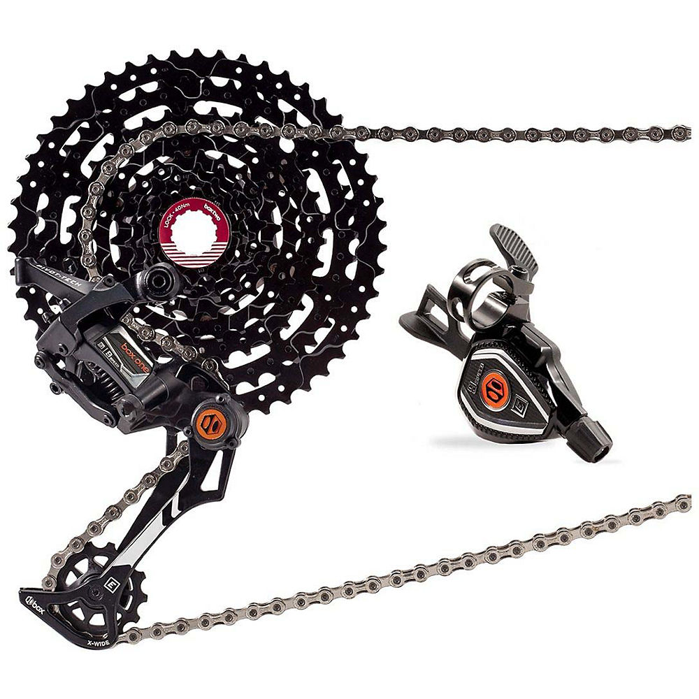 Image of Box One E-Bike 9sp Drivetrain MTB Groupset - Noir - 11-23, Noir