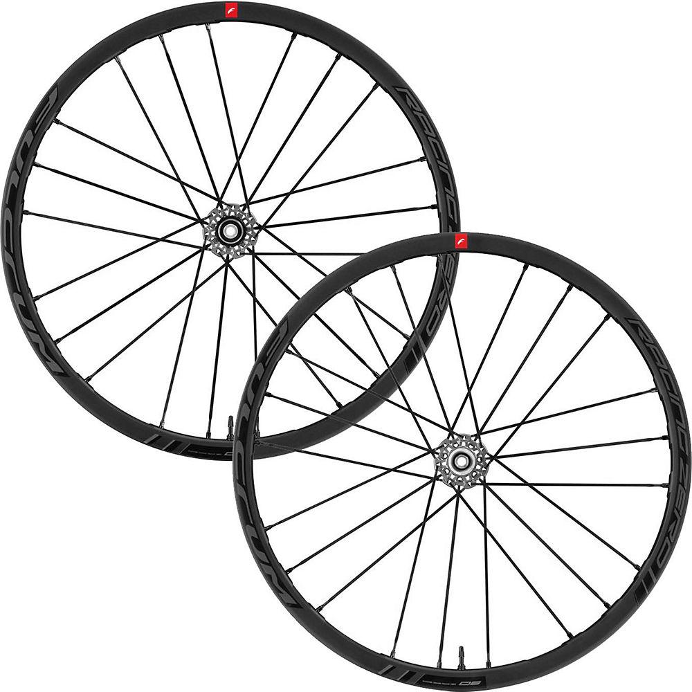 Fulcrum Racing Zero DB Road Wheelset 2020 - Black - Shimano, Black