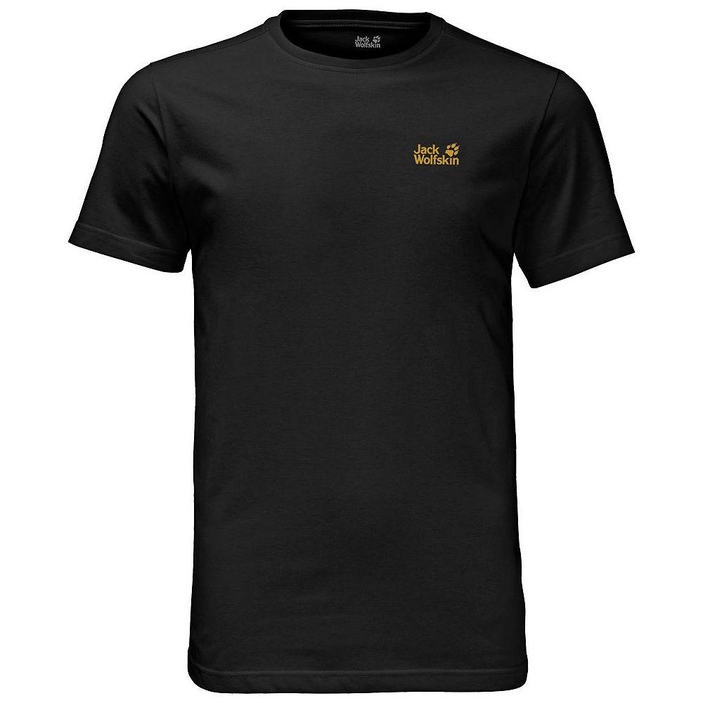 Jack Wolfskin Essential T-shirt  - Black - Xxl  Black