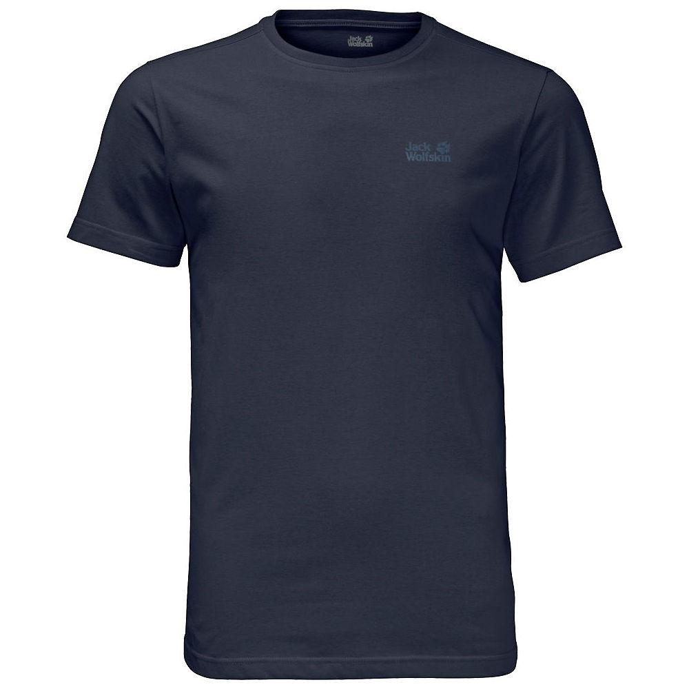 Jack Wolfskin Essential T-Shirt  - Blue - XL, Blue