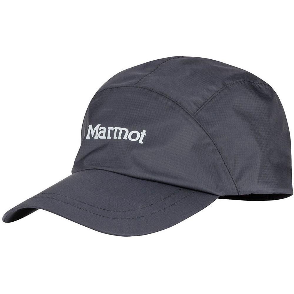 Image of Marmot PreCip Eco Baseball Cap - Noir - One Size, Noir