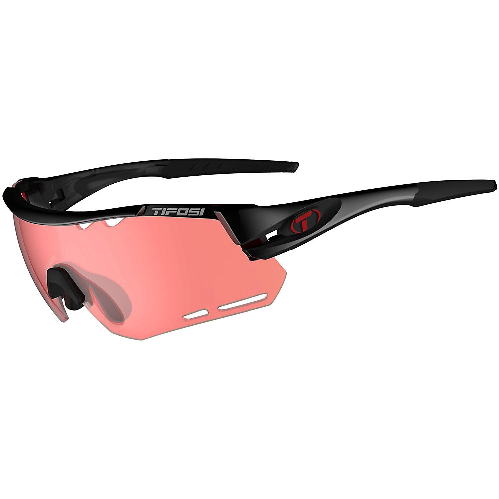 Image of Tifosi Alliant Crystal Black Sunglasses - Crystal Black Enlive, Crystal Black Enlive