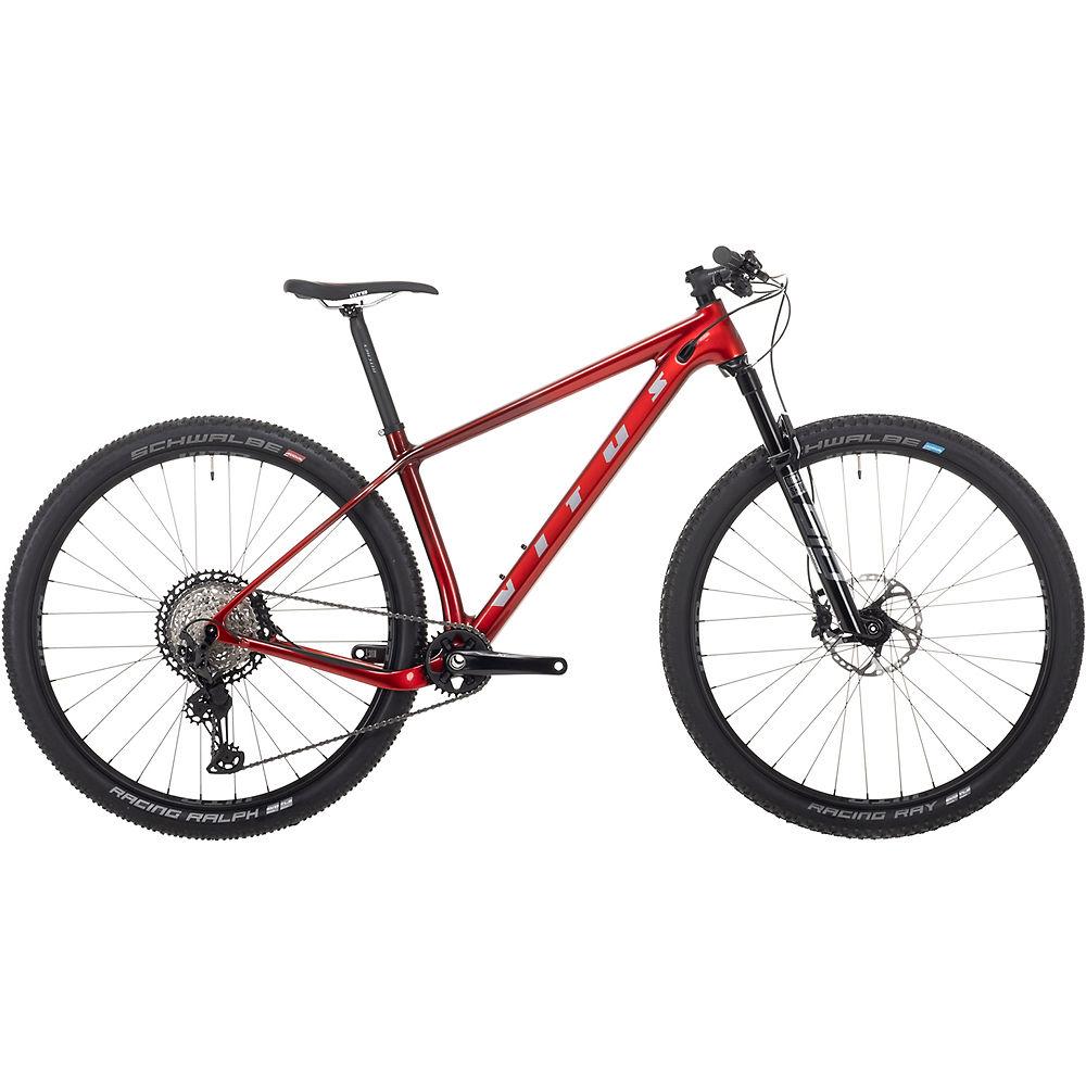 Bicicleta de montaña Vitus Rapide 29 CRX 2021 - Burnt Red, Burnt Red